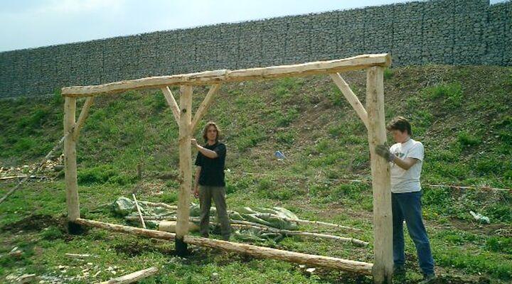 Bau erstes Joch