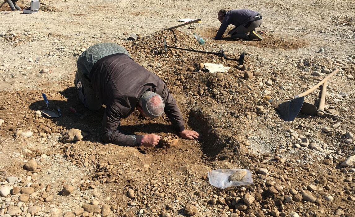 Ausgrabungen in Kirchheim