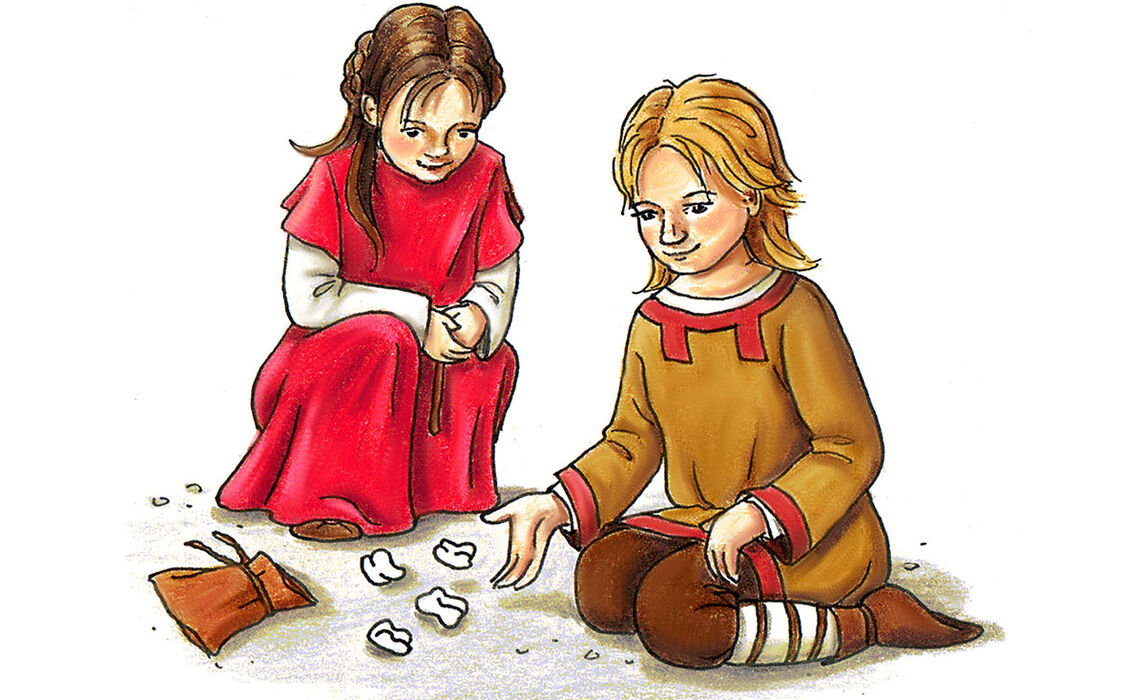 Würfelspiel im frühen Mittelalter